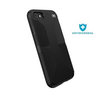 Speck Presidio2 Grip iPhone SE (2020) / 8 / 7 ütésálló tok - fekete