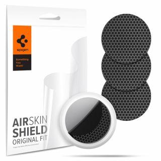 Spigen AirSkin Shield Apple AirTag védőfólia (4db) - carbon