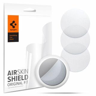 Spigen AirSkin Shield Apple AirTag védőfólia (4db) - matt átlátszó