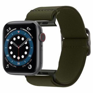 Spigen Fit Lite Apple Watch 44mm / 42mm szövet szíj - zöld