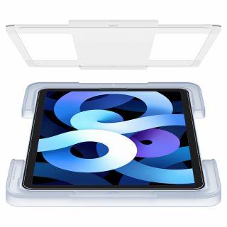 """Spigen GLAS.tR EZ FIT iPad Air 4 (2020) / Pro 11"""" (2021/2020/2018) kijelzővédő üveg - felhelyező kerettel"""