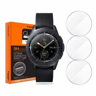 Spigen GLAS.tR Slim Samsung Galaxy Watch 46mm kijelzővédő üveg - 3db