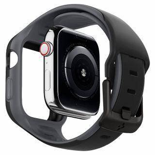 Spigen Liquid Air Pro Apple Watch 44mm tok és szíj - fekete