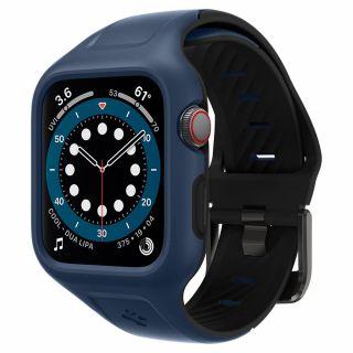 Spigen Liquid Air Pro Apple Watch 44mm tok és szíj - kék