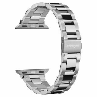 Spigen Modern Fit Apple Watch 40mm / 38mm fém szíj - ezüst