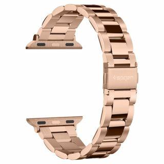 Spigen Modern Fit Apple Watch 40mm / 38mm fém szíj - rozéarany