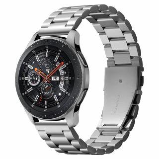 Spigen Modern Fit Samsung Galaxy Watch 46mm fém szíj - ezüst