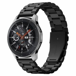 Spigen Modern Fit Samsung Galaxy Watch 46mm fém szíj - fekete