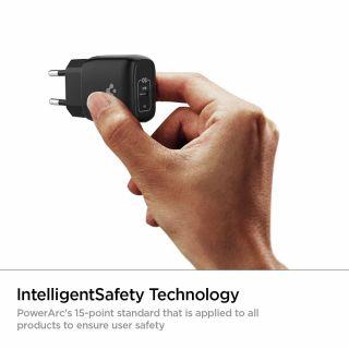Spigen PowerArc ArcStation Pro USB-C hálózati töltő adapter 20W - fekete