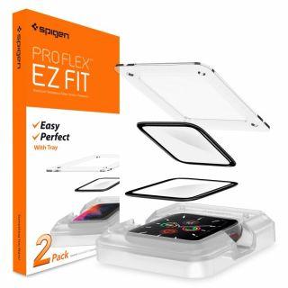 Spigen Proflex EZ Fit Apple Watch 44mm teljes kijelzővédő üveg - 2db