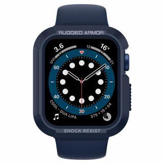 Spigen Rugged Armor Apple Watch Series SE / 6 / 5 / 4 44mm tok - kék