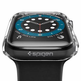 Spigen Thin Fit Apple Watch 44mm tok - átlátszó