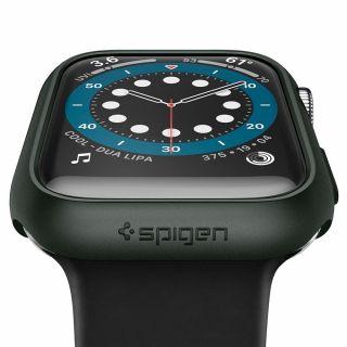 Spigen Thin Fit Apple Watch 44mm tok - zöld