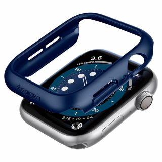 Spigen Thin Fit Apple Watch Series SE / 6 / 5 / 4 44mm tok - kék