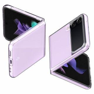 Spigen AirSkin Samsung Galaxy Z Flip 3 Crystal hátlap tok - átlátszó