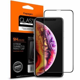 Spigen GLAS.tR SLIM Full Cover iPhone 11 / XR teljes kijelzővédő üveg
