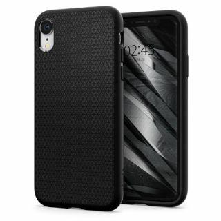Spigen Liquid Air Armor iPhone XR tok - fekete