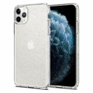 Spigen Liquid Crystal Glitter iPhone 11 Pro tok - átlátszó