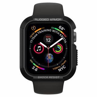 Spigen Rugged Armor Apple Watch 44mm tok - fekete