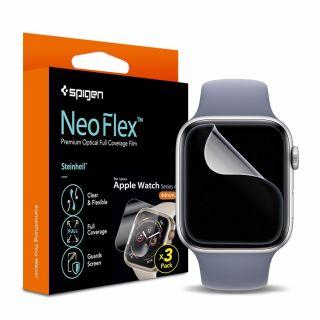 Spigen Steinheil Neo Flex Apple Watch 44mm kijelzővédő fólia - 3db