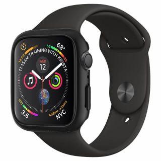 Spigen Thin Fit Apple Watch 44mm tok - fekete