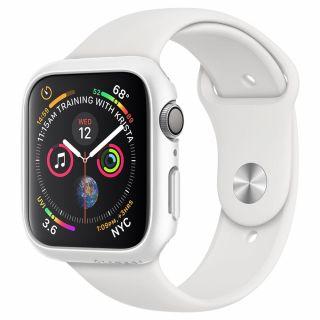 Spigen Thin Fit Apple Watch 44mm tok - fehér