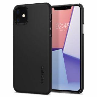 Spigen Thin Fit iPhone 11 tok - fekete