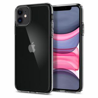 Spigen Ultra Hybrid iPhone 11 ütésálló tok - átlátszó