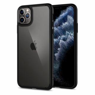 Spigen Ultra Hybrid iPhone 11 Pro ütésálló tok - fekete/átlátszó