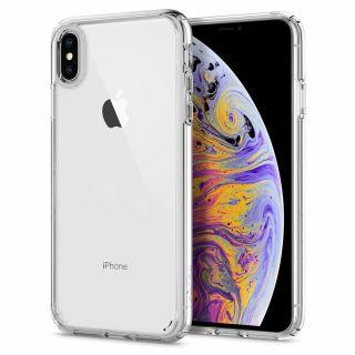Spigen Ultra Hybrid iPhone XS Max tok - átlátszó