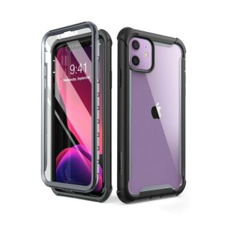 Supcase IBLSN Ares iPhone 11 ütésálló tok előlappal - fekete