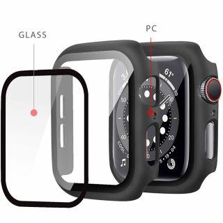 Tech-Protect Defense360 Apple Watch 44mm üveg+tok - fekete