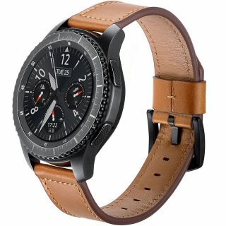 Tech-Protect Herms Samsung Galaxy Watch 3 41mm bőr szíj - barna