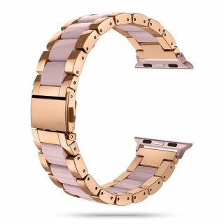 Tech-Protect Modern Apple Watch 40mm / 38mm fém szíj - rózsaszín