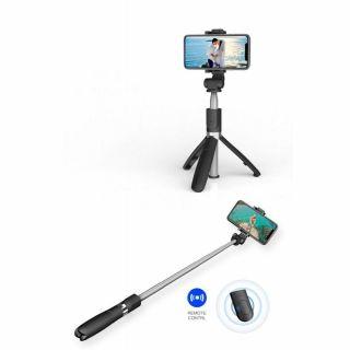 Tech-Protect szelfibot és tripod állvány Bluetooth távkioldóval