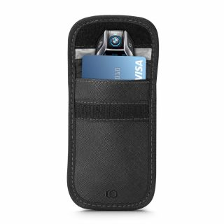 Tech-Protect V1 rádiójel blokkoló kistáska - fekete