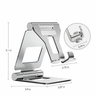 Tech-Protect Z10 univerzális tablet állvány - ezüst