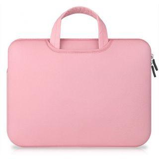 """Tech-Protect Airbag Laptop 14"""" becsúsztathatós tok - rózsaszín"""