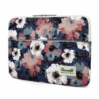 """Canvaslife Sleeve MacBook 13"""" becsúsztathatós tok - camellia"""