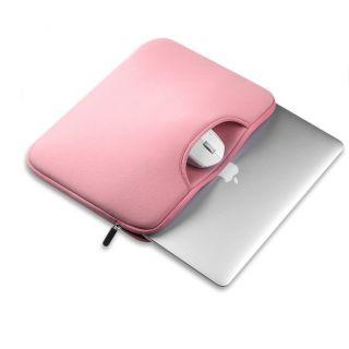 """Tech-Protect Airbag Laptop 13"""" becsúsztathatós tok - rózsaszín"""