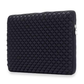"""Tech-Protect Diamond Laptop 13"""" / 14"""" becsúsztathatós tok - fekete"""