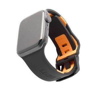UAG Civilian Apple Watch 44mm / 42mm szilikon szíj - fekete