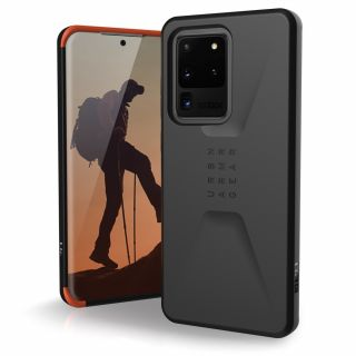 UAG Civilian Samsung Galaxy S20 Ultra ütésálló hátlap tok - fekete