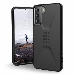 UAG Civilian Samsung Galaxy S21+ Plus ütésálló hátlap tok - fekete