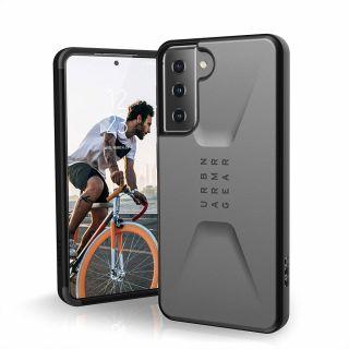 UAG Civilian Samsung Galaxy S21 ütésálló hátlap tok - szürke