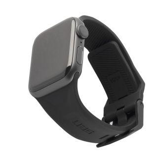 UAG Scout Apple Watch 40mm / 38mm szilikon szíj - fekete