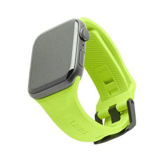 UAG Scout Apple Watch 44mm / 42mm szilikon szíj - lime