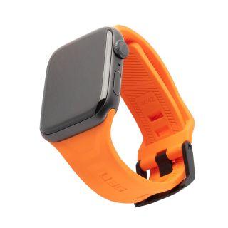 UAG Scout Apple Watch 44mm / 42mm szilikon szíj - narancssárga