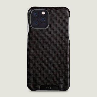 Vaja Grip iPhone 11 Pro prémium bőr tok - pointille fekete