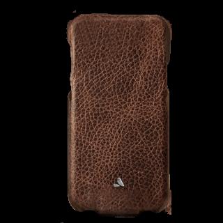 Vaja Top iPhone XS / X prémium kinyitható bőr tok - Durango